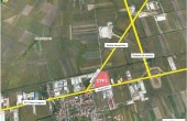 CTP I Timisoara spatiu productie si spatiu depozitare Timisoara est vedere satelit