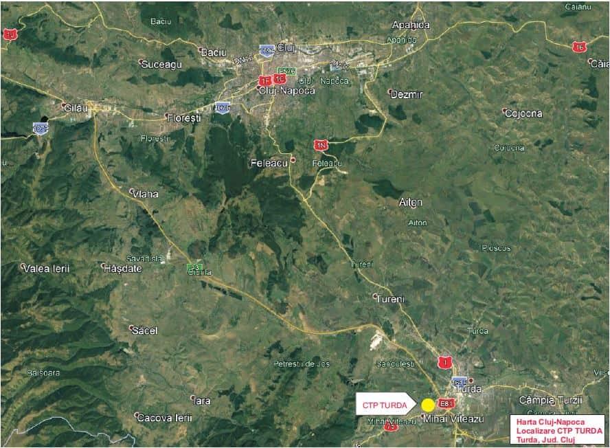 Ctp Logistics Park Industrial Buildings For Rent In Turda