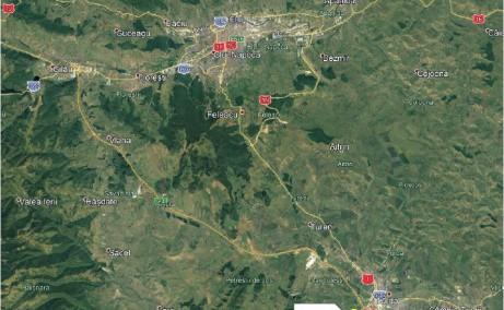 CTP Turda - Proiect in dezvoltare inchiriere Turda sud localizare harta