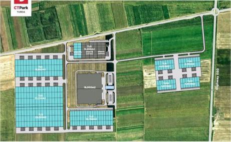 CTP Turda depozit de inchiriat in Turda sud schita proprietate