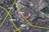 Hala Mecanicafina hale de inchiriat Bucuresti zona Obor imagine din satelit