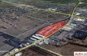 NGB Bragadiru - parc industrial in dezvoltare inchiriere Bucuresti sud-vest localizare din satelit