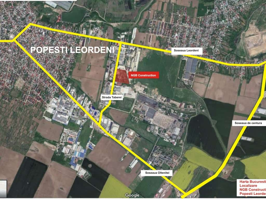 Ngb Popesti Leordeni Industrial Spaces For Rent Near Bucharest