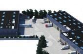 NGB Popesti Leordeni - proiect in dezvoltare inchiriere Bucuresti sud-est vedere de sus