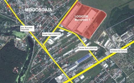 Logicor București I Parc Cu Hale De Depozitare De Inchiriat