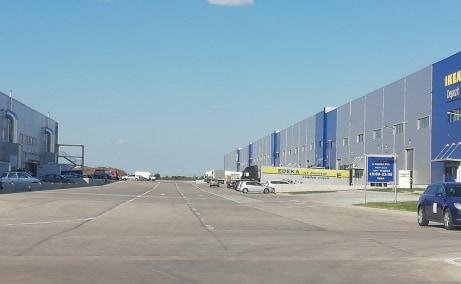 LOGICOR Bucuresti I - Parc Industrial In Dezvoltare Bucuresti nord vedere zona exterioara