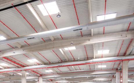 LOGICOR Bucuresti I - Parc Industrial In Dezvoltare Bucuresti nord vedere spatiu interior