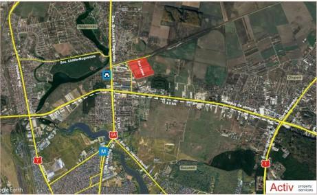 LOGICOR Bucuresti I - Parc Industrial In Dezvoltare Bucuresti nord vedere localizare harta Bucuresti