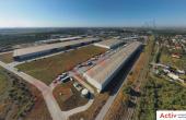 LOGICOR Bucuresti I - inchiriere spatiu depozitare Bucuresti nord vedere laterala parc logistic