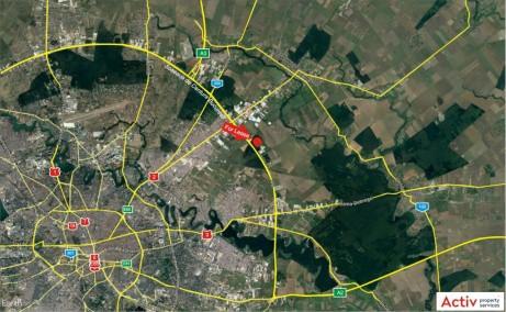 LOGICOR Bucuresti II - Parc Industrial In Dezvoltare inchiriere Bucuresti nord-est localizare google