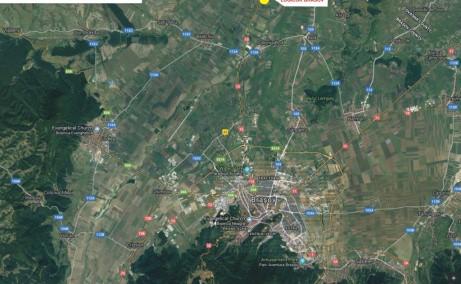 LOGICOR Brasov - proiect in dezvoltare inchiriere Brasov nord localizare harta