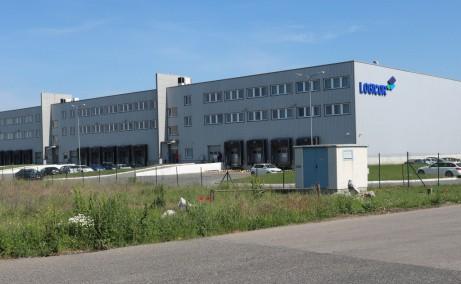 LOGICOR Timisoara inchiriere spatii depozitare si productie  Timisoara nord-est vedere laterala stanga