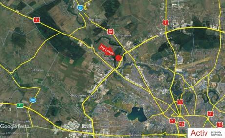LIFTCON Mogosoaia - spatiu depozitare Bucuresti nord-vest vedere localizare google panoramic
