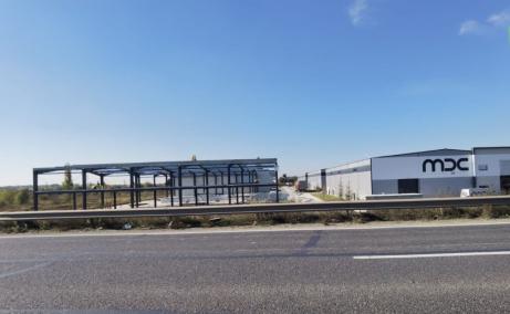 LIFTCON Mogosoaia - spatiu depozitare Bucuresti nord-vest vedere vedere constructie fata II