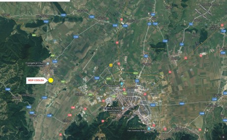 WDP Industrial Park Codlea - parc industrial in dezvoltare inchiriere Brasov vest localizare harta