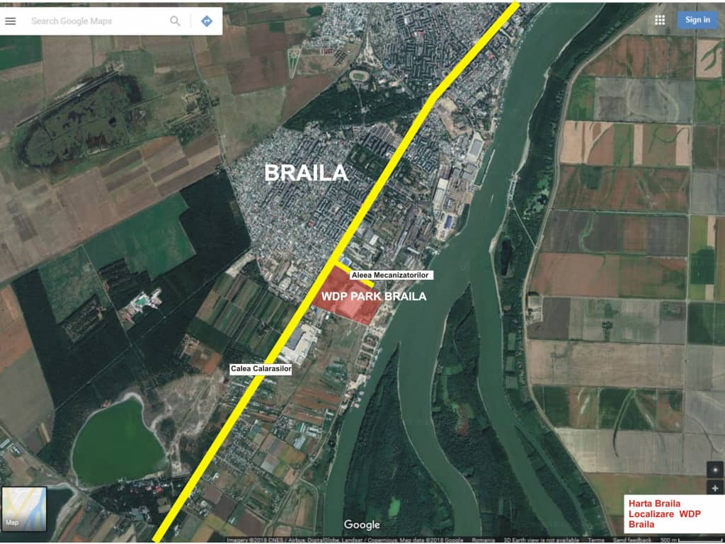 Logistic Wdp Braila Industrial Park For Rent