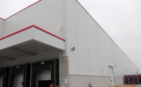 WDP Braila - parc industrial in dezvoltare inchirieri Braila sud vedere laterala
