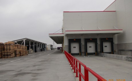 WDP Braila - parc industrial in dezvoltare inchirieri Braila sud rampe de incarcare
