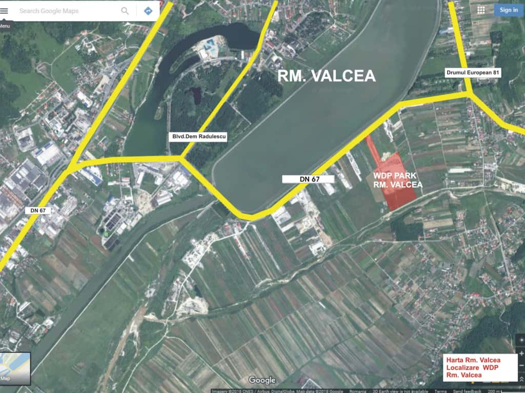 Logistic Wdp Eamnicu Valcea Industrial Park For Rent