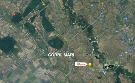 WDP Industrial Park Corbii Mari - proiect in dezvoltare Bucuresti autostrada A1 localizare zona harta Corbii Mari