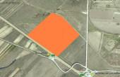 WDP Industrial Park Corbii Mari - proiect in dezvoltare Bucuresti autostrada A1 imagine proprietate satelit