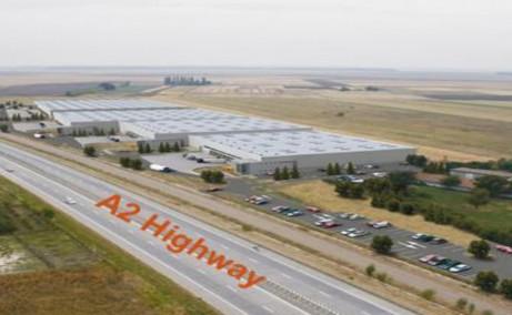 WDP Fundulea - proiect in dezvoltare inchiriere spatiu depozitare Bucuresti est imagine acces autostrada A2