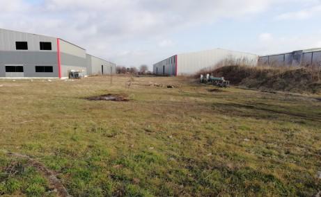 Hale industriale Magurele spatii de depozitare de inchiriat Bucuresti Bucuresti sud-vest vedere exterior teren