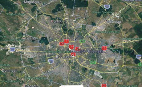 Hale industriale Magurele hale de inchiriat Bucuresti Bucuresti sud-vest localizare google