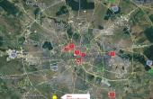 Hale industriale Magurele spatii de depozitare de inchiriat Bucuresti Bucuresti sud-vest localizare google