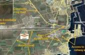 WDP Agigea - proiect in dezvoltare inchiriere spatii depozitare Constanta sud localizare harta