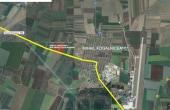 WDP Industrial Park Mihail Kogalniceanu - parc industrial in dezvoltare inchiriere spatiu depozitare Constanta nord vedere satelit