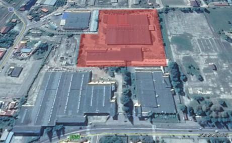 Hala Targu Secuiesc inchiriere spatiu depozitare Targu Secuiesc sud vedere satelit