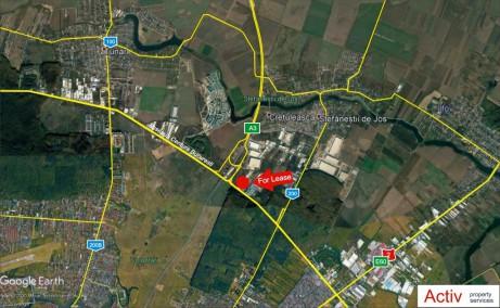 Hala Centura Bucuresti inchiriere spatiu depozitare Bucuresti nord vedere panoramica