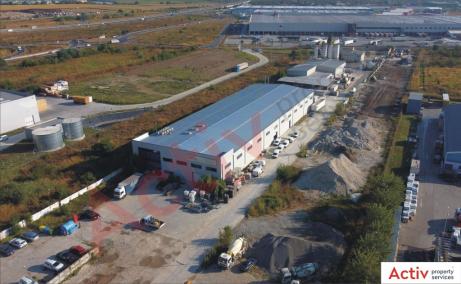 Spatii depozitare de inchiriat in Stefanesti, Bucuresti nord vedere acces