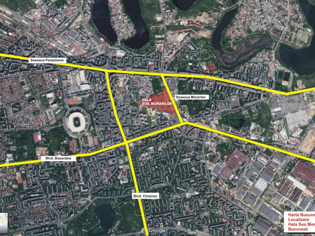 Industrial Warehouse For Rent In Sector 2 Bucharest