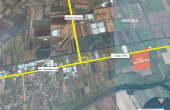 CTPark II Timisoara inchiriere spatiu de depozitare Timisoara  nord-est vedere google map