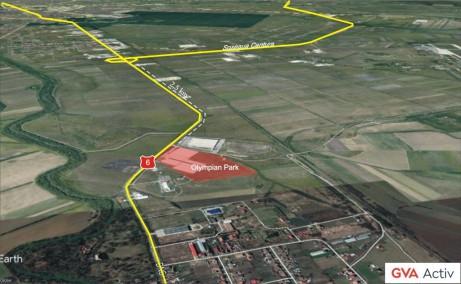 Olympian Park Timisoara inchiriere spatiu depozitare si productie  Timisoara nord-est vedere satelit