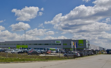 Timisoara Airport Park 1 (TAP I) inchirieri  spatii industriale Timisoara nord est vedere laterala