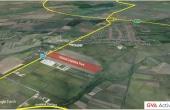 Global Logistics Timisoara 2 inchirieri parcuri industriale Timisoara nord-est vedere satelit