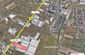 Geox Timisoara inchirieri proprietati industriale Timisoara  sud vedere satelit