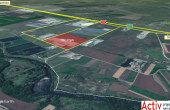 TRC Park Cluj inchirieri hale Cluj nord vedere satelit
