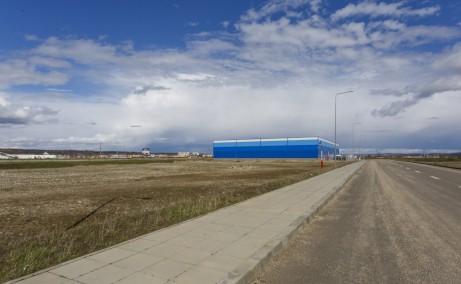 Aries Industrial Parkinchiriere spatiu depozitare sau productie in Turda sud vedere laterala ansamblu