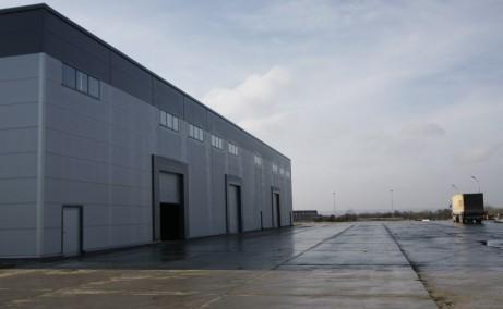 ADISS Logistic Parcinchiriere spatiu depozitare Baia Mare vest usi acces auto