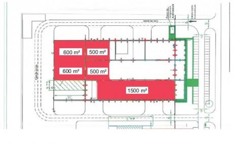 ADISS Logistic Parc inchiriere spatiu depozitare Baia Mare vest plan