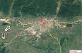 ADISS Logistic Parc inchiriere spatiu depozitare Baia Mare vest localizare harta