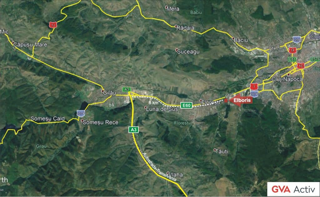 Elboris Logistics Center For Rent In Floresti Near Cluj Napoca