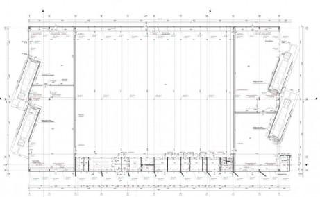 Arc Parc Industrial spatii de depozitare de inchiriat Dej sud plan