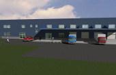 Turda Warehouse inchiriere spatii industriale Turda est usa acces auto