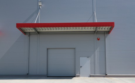 Sânandrei Industrial Park inchiriere spatiu depozitare si productie Timisoara nord usa acces auto