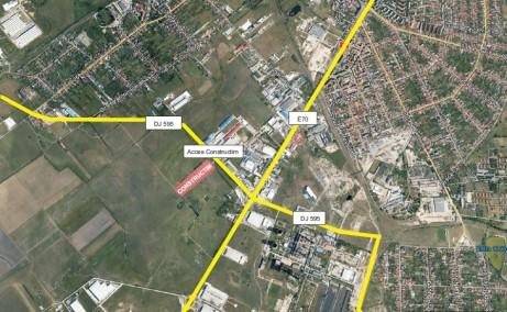 Hala Constructim Timisoara  inchirieri proprietati industriale Timisoara  sud localizare google map